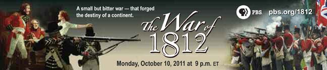 --:  WNED website : War of 1812  :--